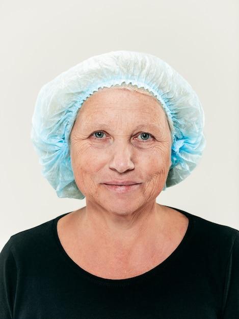 Twarz Kobiety W średnim Wieku Przed Operacją Plastyczną Darmowe Zdjęcia