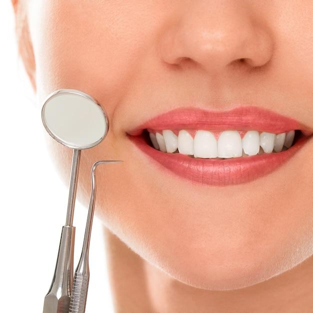 U Dentysty Z Uśmiechem Darmowe Zdjęcia