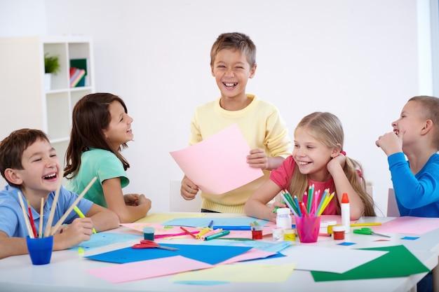 Uczniowie zabawę Darmowe Zdjęcia