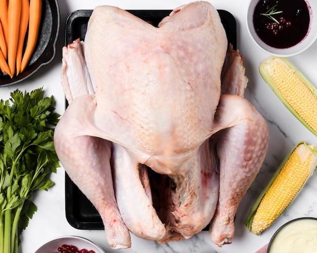 Układ Jedzenia Na święto Dziękczynienia Darmowe Zdjęcia