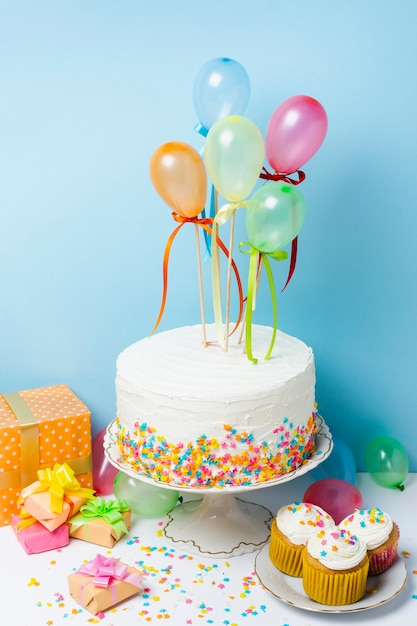 Układ koncepcji przyjęcia urodzinowego Darmowe Zdjęcia