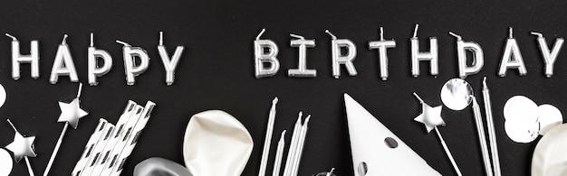 Układ Płaskich Elementów Urodzinowych Darmowe Zdjęcia