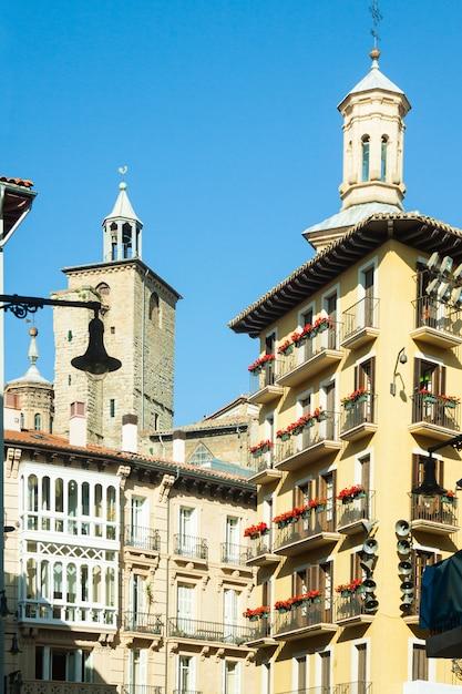 Ulica Pamplona. Navarre Darmowe Zdjęcia