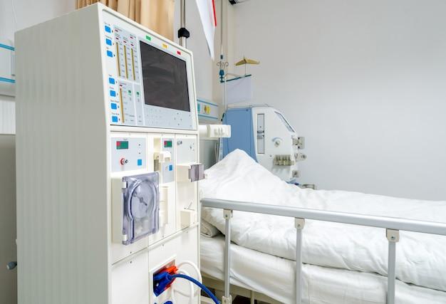 Urządzenie Do Hemodializy Na Oddziale Szpitalnym. Premium Zdjęcia