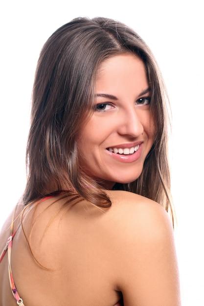 Uśmiechnięta Piękna Kobieta Darmowe Zdjęcia