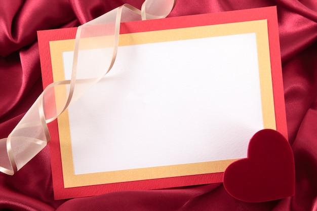 Valentine karty z puste pudełko Darmowe Zdjęcia