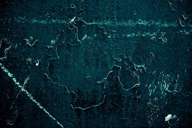 Vintage Lazurowe Tło. Szorstka, Pomalowana ściana W Kolorze Turkusowym. Niedoskonały Samolot W Kolorze Cyjanu. Nierówne Stare Ozdobne Stonowane Tło O Akwarelowym Odcieniu. Tekstura Odcień Turkusowy. Ozdobna, Kamienista Powierzchnia. Premium Zdjęcia