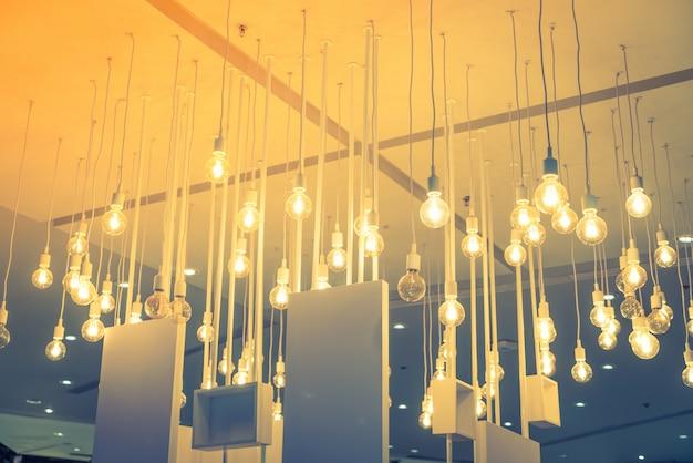 Vintage oświetlenie wystrój (filtrowany obraz przetwarzany rocznika efekt Darmowe Zdjęcia