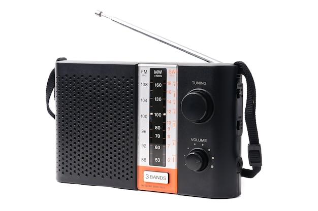 Vintage Radio Do Słuchania Programów Radiowych Premium Zdjęcia