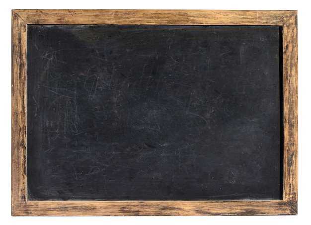 Vintage tablica lub tablica szkolna Premium Zdjęcia