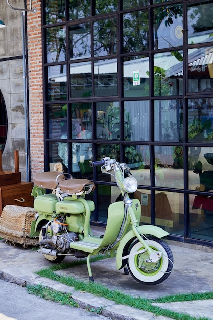 Vintage Włoski Skuter Lambretta Premium Zdjęcia