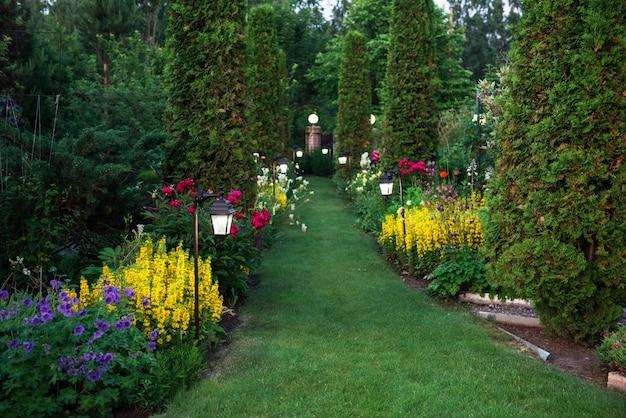 W ogrodzie botanicznym Premium Zdjęcia