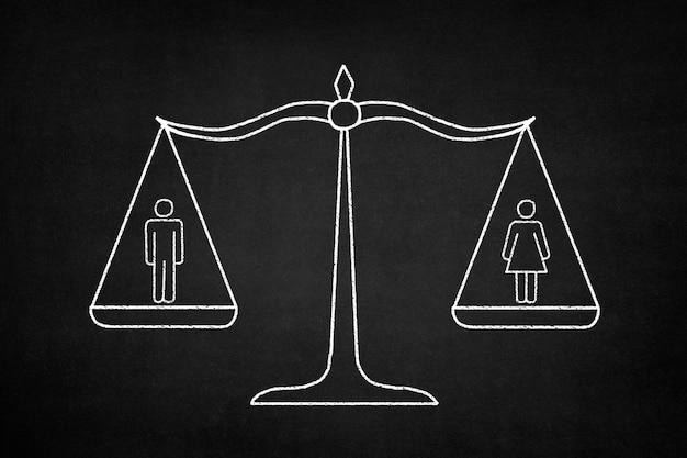 Wagę Mężczyznę I Kobietę, Darmowe Zdjęcia