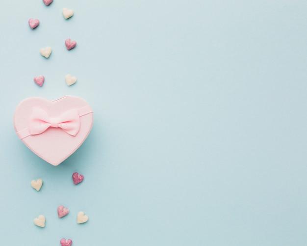 Walentynki prezent w kształcie serca Darmowe Zdjęcia