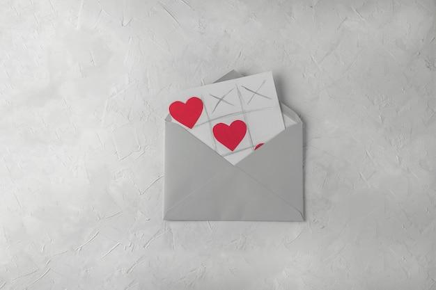 Walentynki ręcznie robione kartki z życzeniami Premium Zdjęcia