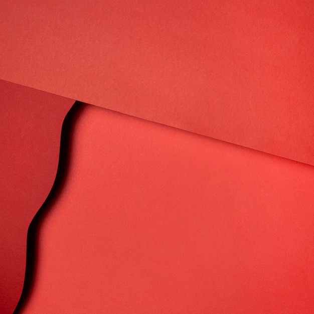 Warstwy Czerwonych Podartych Papierów Darmowe Zdjęcia