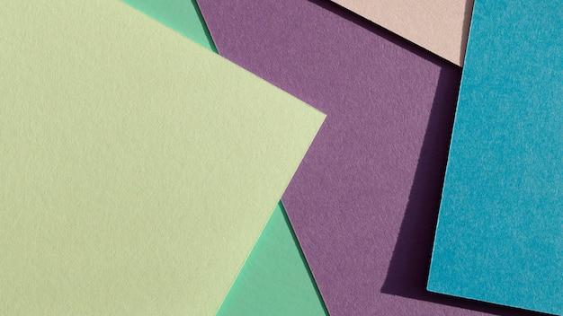 Warstwy Kolorowych Papierów I Cieni Darmowe Zdjęcia