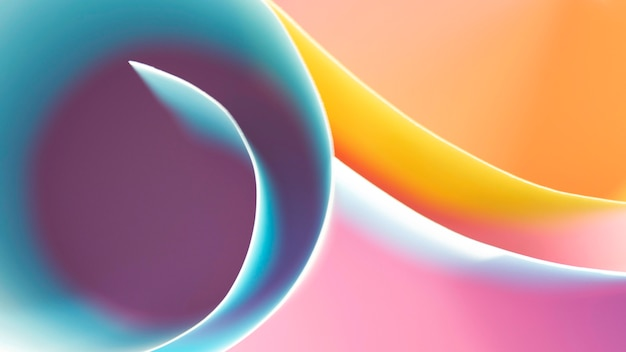 Warstwy Rolowanych Kolorowych Papierów Darmowe Zdjęcia