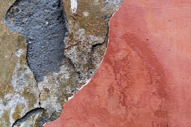 Warstwy W Szorstkiej Powierzchni Betonowej ściany Darmowe Zdjęcia