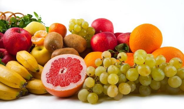 Warzywa I Owoce Smaczne I Zdrowe Premium Zdjęcia