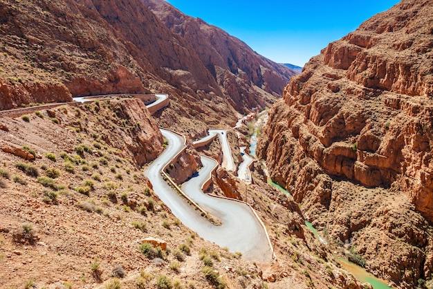 Wąwóz Dades, Maroko Premium Zdjęcia