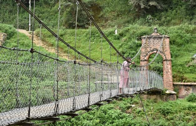 Wędrówki Po Nepalu Premium Zdjęcia