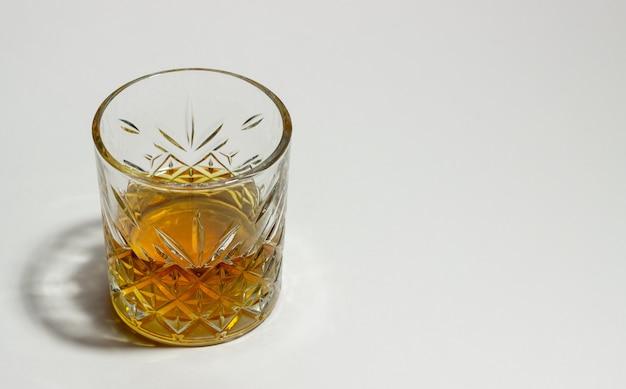 Whisky W Szklance. Napoje Alkoholowe. Bar. Restauracja. Premium Zdjęcia
