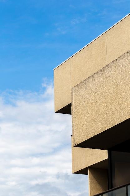 Widok budynku z grubą powierzchnią tynku Darmowe Zdjęcia