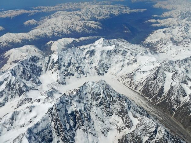 Widok Na Góry Kaukaskie Premium Zdjęcia