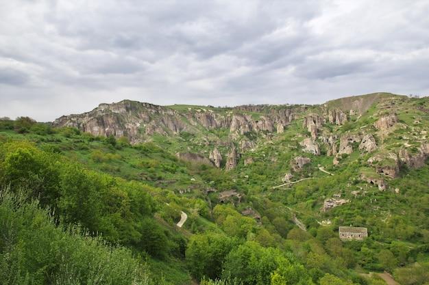 Widok Na Góry Kaukazu, Armenia Premium Zdjęcia