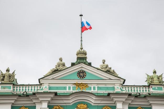 Widok Na Sankt Petersburg, Rosja Premium Zdjęcia