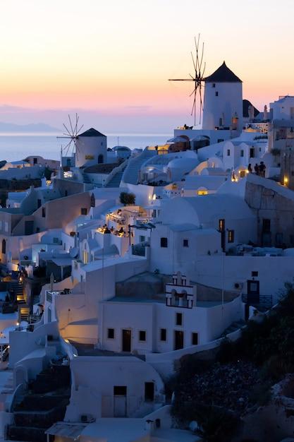 Widok Santorini Oai Premium Zdjęcia