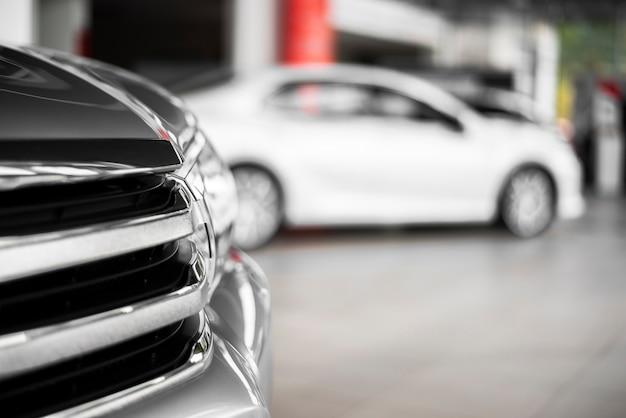Widok Z Boku Nowych Samochodów Do Sprzedaży Darmowe Zdjęcia