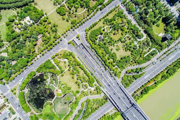 Widok Z Góry Na Most Darmowe Zdjęcia