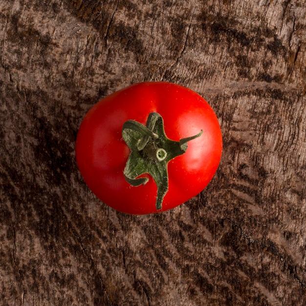 Widok Z Góry Pyszny świeży Pomidor Darmowe Zdjęcia