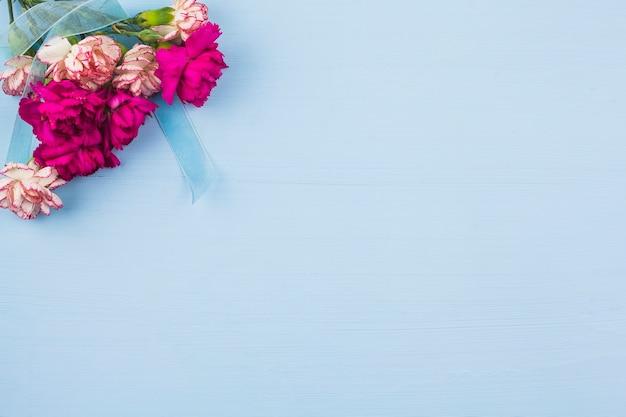 Widok Z Góry świeżych Kwiatów Darmowe Zdjęcia