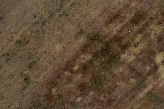 Widok Z Góry Zdjęcie Lotnicze Z Drona Krajobrazu Doliny Deserowej. Piękna Przyroda Z Miejscem Na Kopię Na Reklamę. Darmowe Zdjęcia