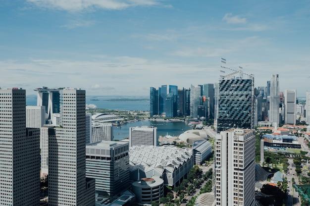 Widok Z Lotu Ptaka Cityspace Darmowe Zdjęcia