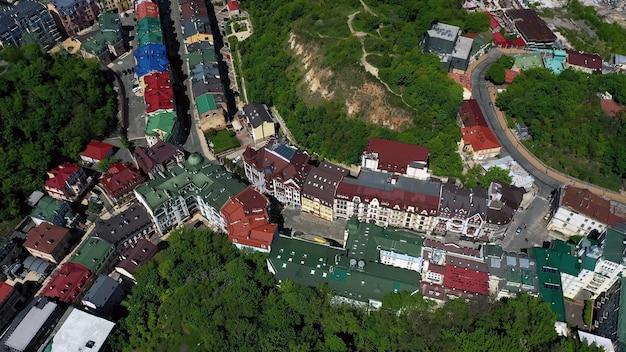 Widok Z Lotu Ptaka Placu Sofii I Placu Michajłowskiego W Kijowie Na Ukrainie Darmowe Zdjęcia