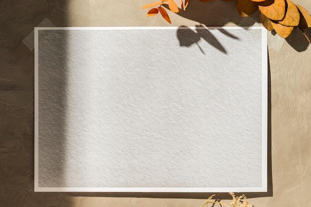 Widok Z Przodu Jesiennej Koncepcji Moodboard Premium Zdjęcia