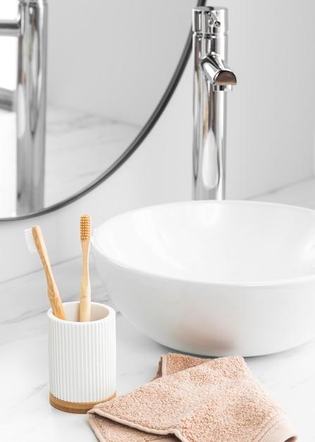 Widok Z Przodu Koncepcji Kosmetyków Ekologicznych Premium Zdjęcia
