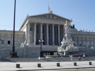 Wiedeń - izby parlamentu Darmowe Zdjęcia