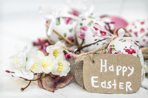 Wielkanocne Tło Miejsce Na Tekst Darmowe Zdjęcia