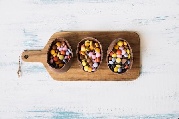Wielkanocni Cukierki Na Pokładzie Darmowe Zdjęcia