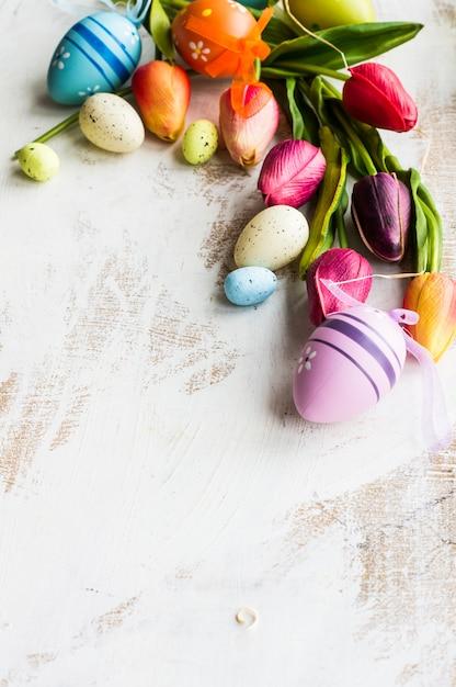 Wielkanocny świąteczny Pojęcie Premium Zdjęcia