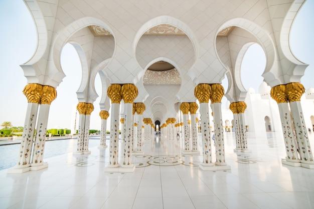 Wielki Meczet Zayeda Premium Zdjęcia
