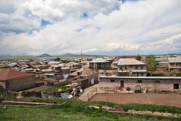 Wieś W Górach Kaukazu, Armenia Premium Zdjęcia