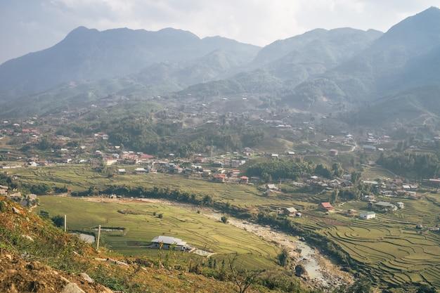 Wietnamski Krajobraz W Sa Pa Darmowe Zdjęcia