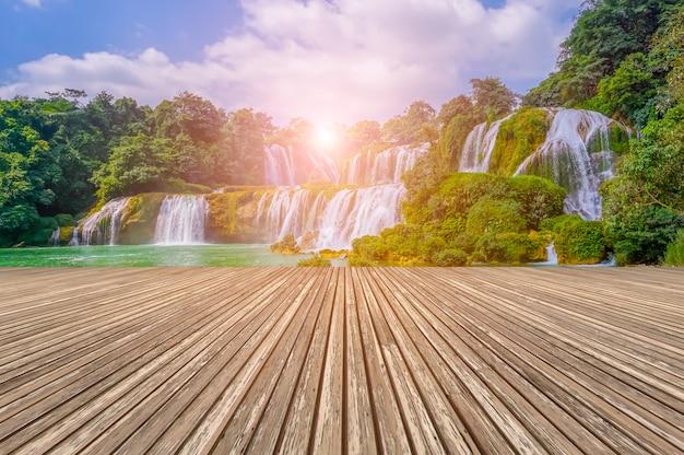 Wietnamu Charakter Natury Chiny Tropikalnych Falls Darmowe Zdjęcia