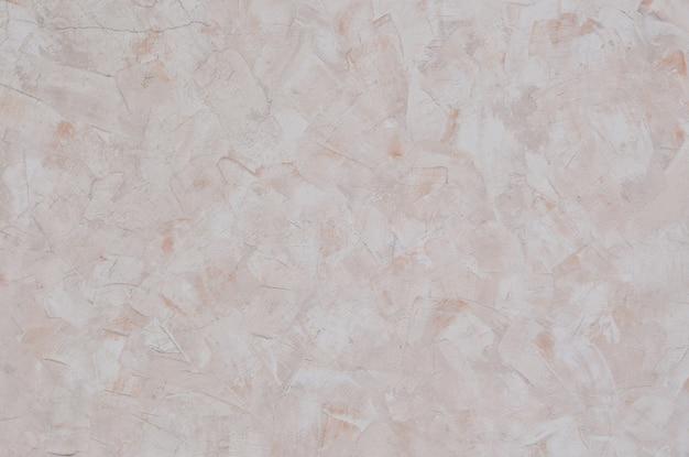 Wietrzejąca I Barwiona Stara Beżowa Tynk Tekstury ściana Premium Zdjęcia